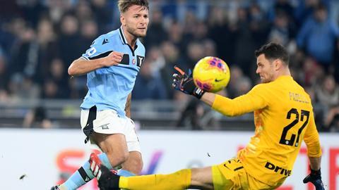 Lazio go second as second-half fightback floors Inter