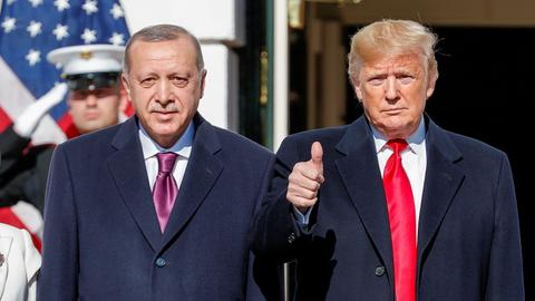 Trump thanks Erdogan for averting catastrophe in Idlib