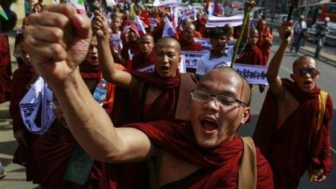 Myanmar's top Buddhist organisation bans hardline group