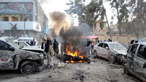 'Suicide blast' kills at least 10 in Pakistan's Quetta city