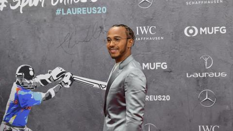 Messi, Hamilton joint winners of Sportsman of the Year at Laureus Awards