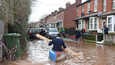 Storm Dennis wreaks deadly havoc across flood-hit Britain