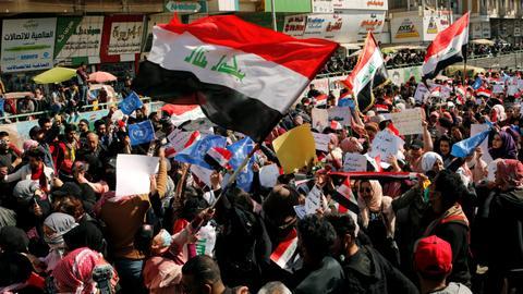 UN envoy condemns use of birdshot against Iraqi protesters