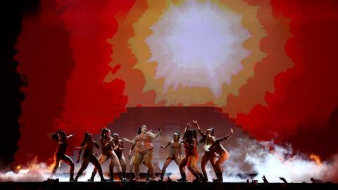 Lewis Capaldi, Dave win at politically tinged Brit Awards
