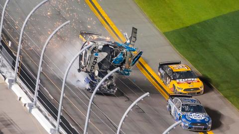 Newman 'awake and speaking' after horrific Daytona 500 wreck