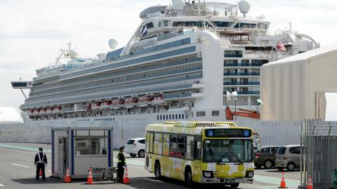 Two Japanese cruise ship passengers die from coronavirus in hospital