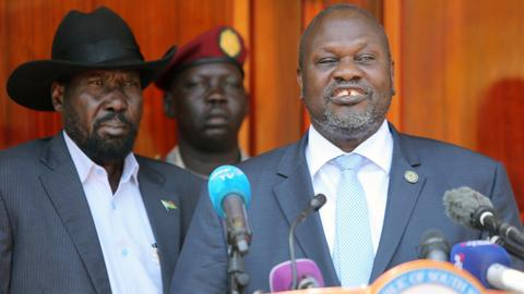 South Sudan agrees to form unity government by Saturday deadline