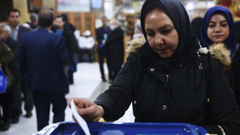 Iran votes in parliament elections that favours conservatives