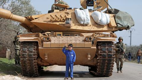 Turkish troops surge in Syria as UN fears 'bloodbath' in Idlib