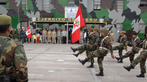 Peru army deployed to stop cocaine production