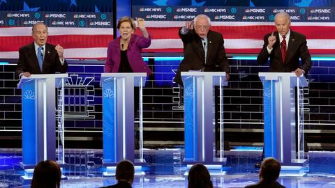 Democrats battle for presidential race primacy in Nevada and beyond