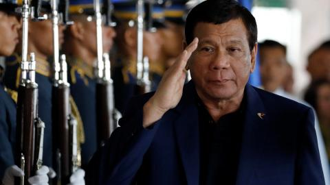 Philippine President Duterte threatens to extend scope of martial law