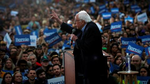 Democratic rivals aim to slow Sanders' momentum after his big win in Nevada