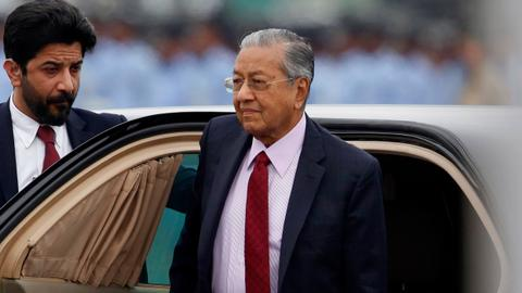 The making of Malaysian Prime Minister Mahathir's resignation