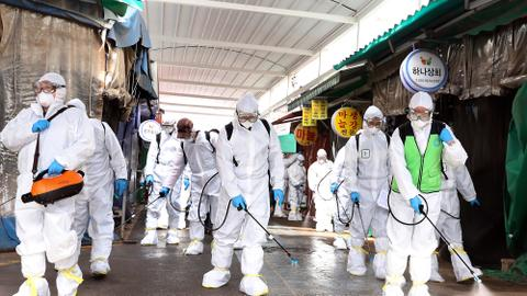 China, South Korea report more virus cases amid rising global concern