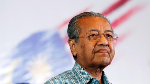 Malaysian king appoints Mahathir as interim premier