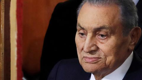 Egypt's ousted president Hosni Mubarak dies at 91