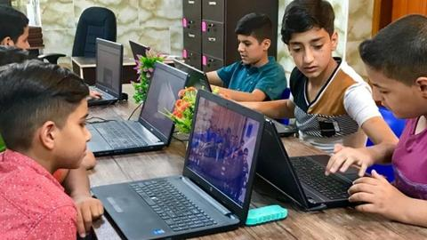 An academy for orphans filling the schooling void in Iraq