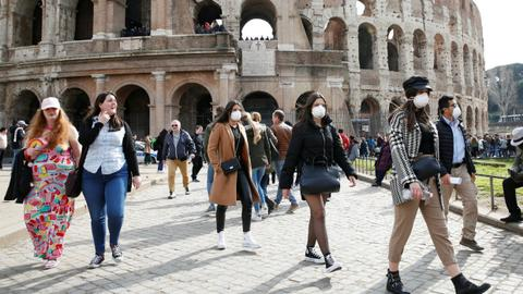 Italy's struggle to contain the coronavirus threatens Europe and beyond