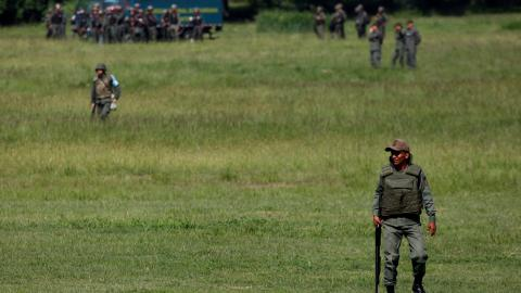 Venezuela's military defends its role in deadly protests