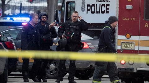 Gunman killed five at Milwaukee brewery complex - US police