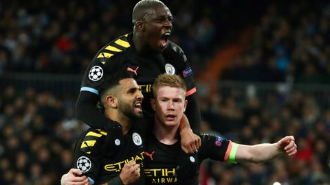De Bruyne leads remarkable Man City comeback win in Madrid