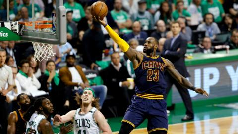 LeBron passes Jordan as all-time NBA playoffs scorer