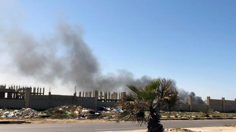 Bombardment intensifies in Libya's Tripoli, patients evacuated