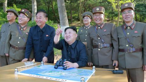 North Korea tests new anti-aircraft weapon system