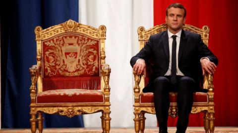 Macron promises