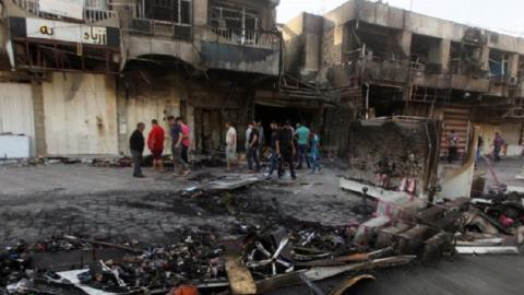 Car bomb kills 15 in central Baghdad