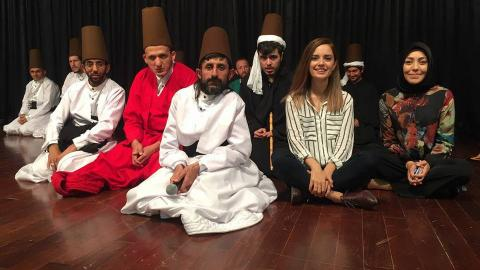 Dervish life helps disabled integrate in Turkey