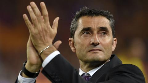 Valverde appointed Barcelona coach