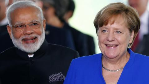 Indian PM in Germany urges climate action