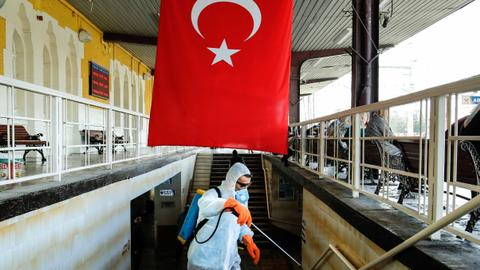 Turkey's death toll from coronavirus rises to 277