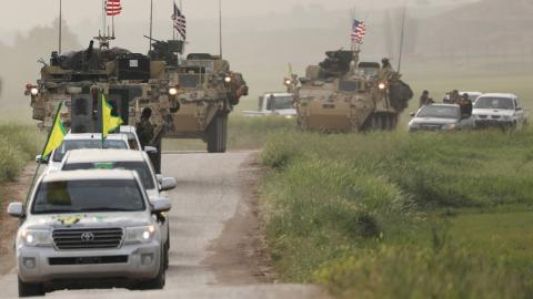 US sends arms to YPG in northern Syria
