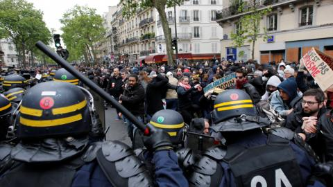 Amnesty says France using terrorism powers to curb peaceful protests