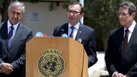 Cyprus leaders to tackle dispute in Geneva