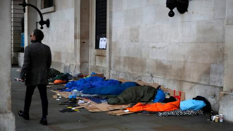 Advised to stay home: but what about the homeless in times of coronavirus?