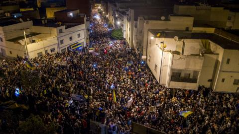 Protests in northern Morocco enter sixth day