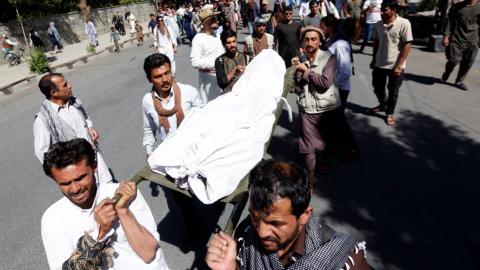 At least 4 killed in Kabul street clashes over lethal bombing