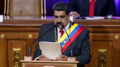 Venezuela blasts US Maduro indictment as 'coup'