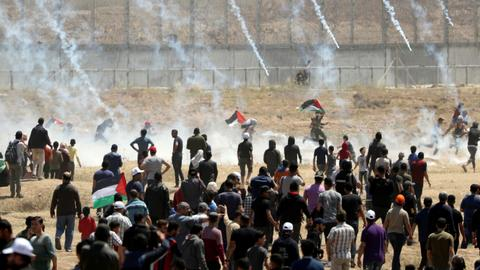Palestinian groups cancel mass Gaza rallies over coronavirus concerns