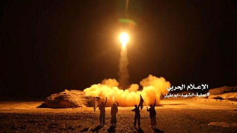 Saudi forces intercept two missiles over curfew-locked Riyadh