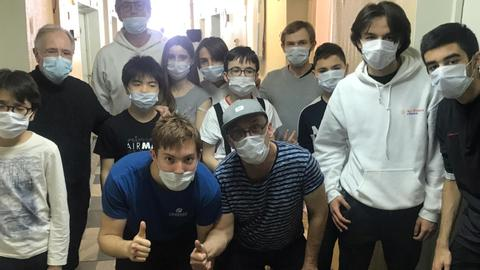 French chess team quarantined in Russia plan next move