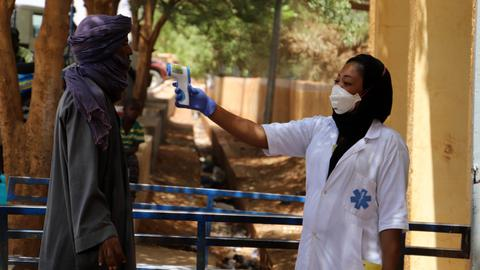 Mali records first coronavirus death hours before election