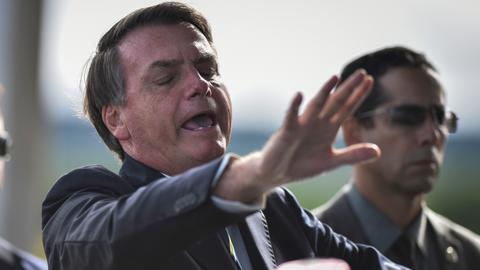 Twitter removes two Bolsonaro tweets questioning virus quarantine