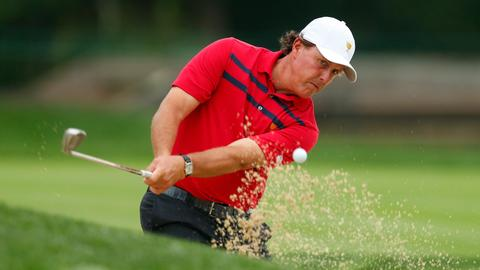 Mickelson 'working on' potential rematch with Woods