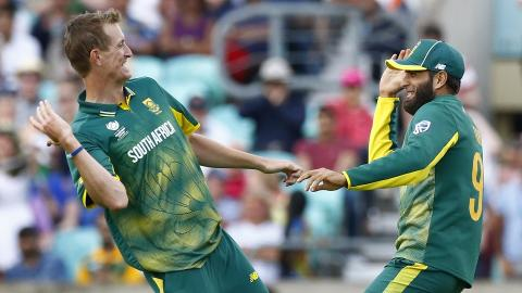 South Africa beats Sri Lanka in Champions Trophy Group B opener