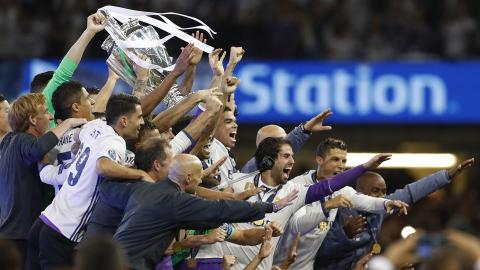 Real Madrid win UEFA Champions League